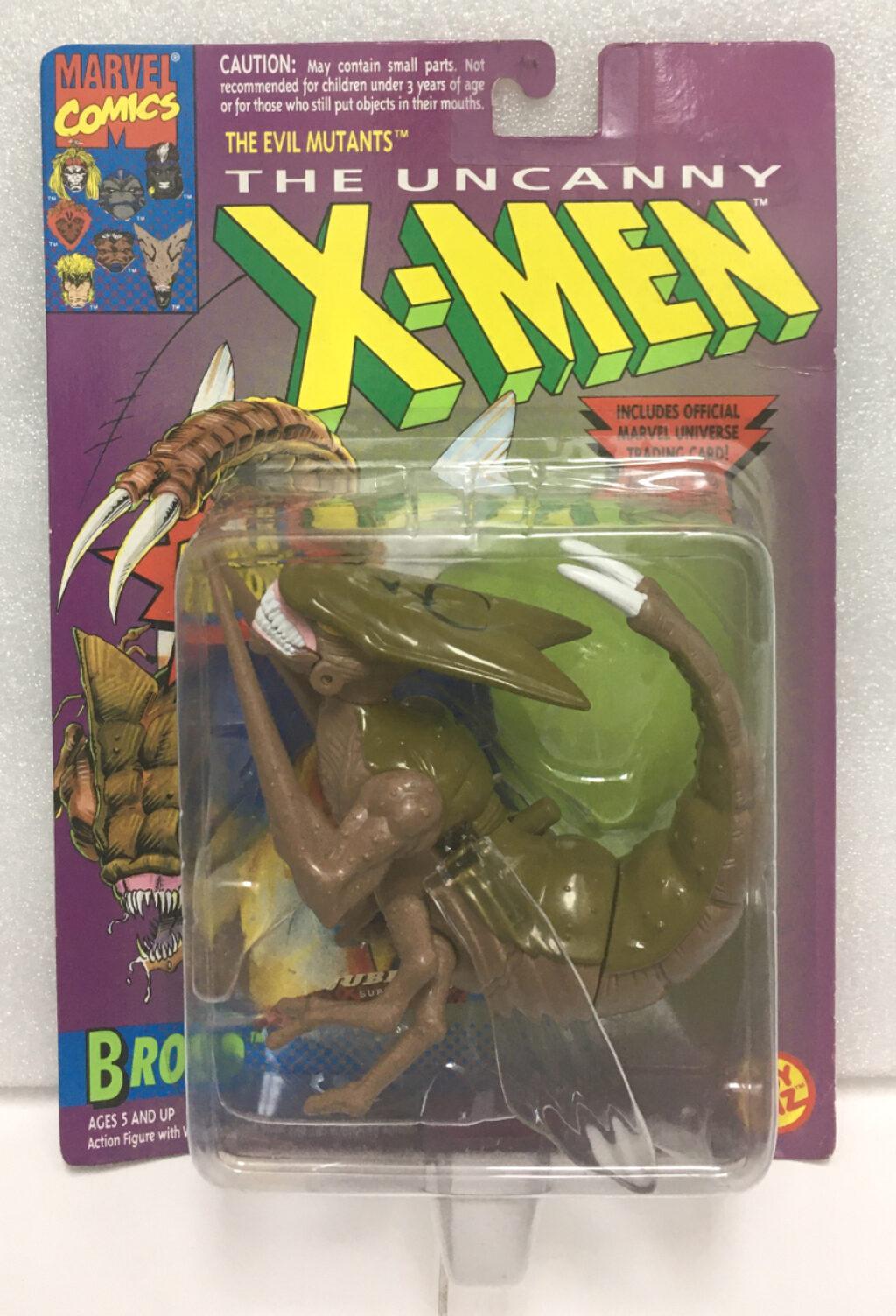 1993 toy biz x-men brood action figure 1