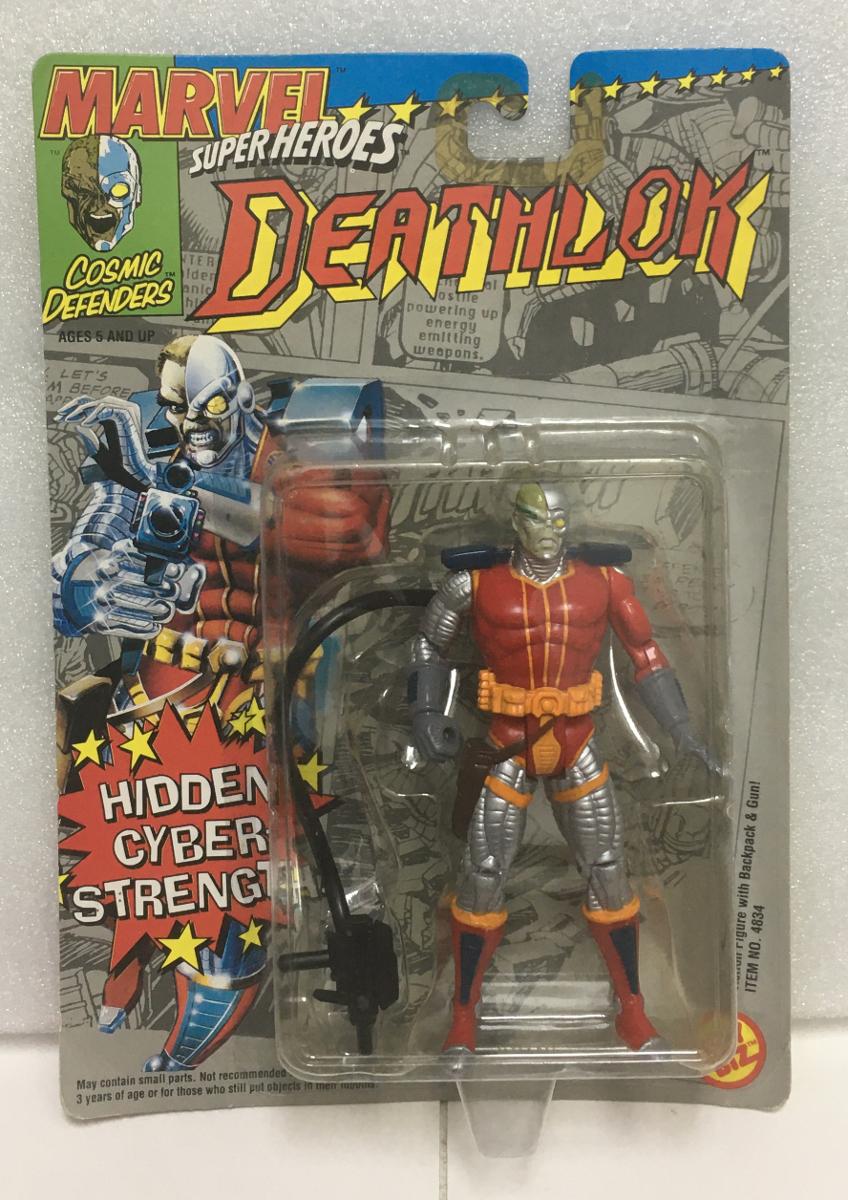 1992 toy biz marvel super heroes deathlok action figure 1