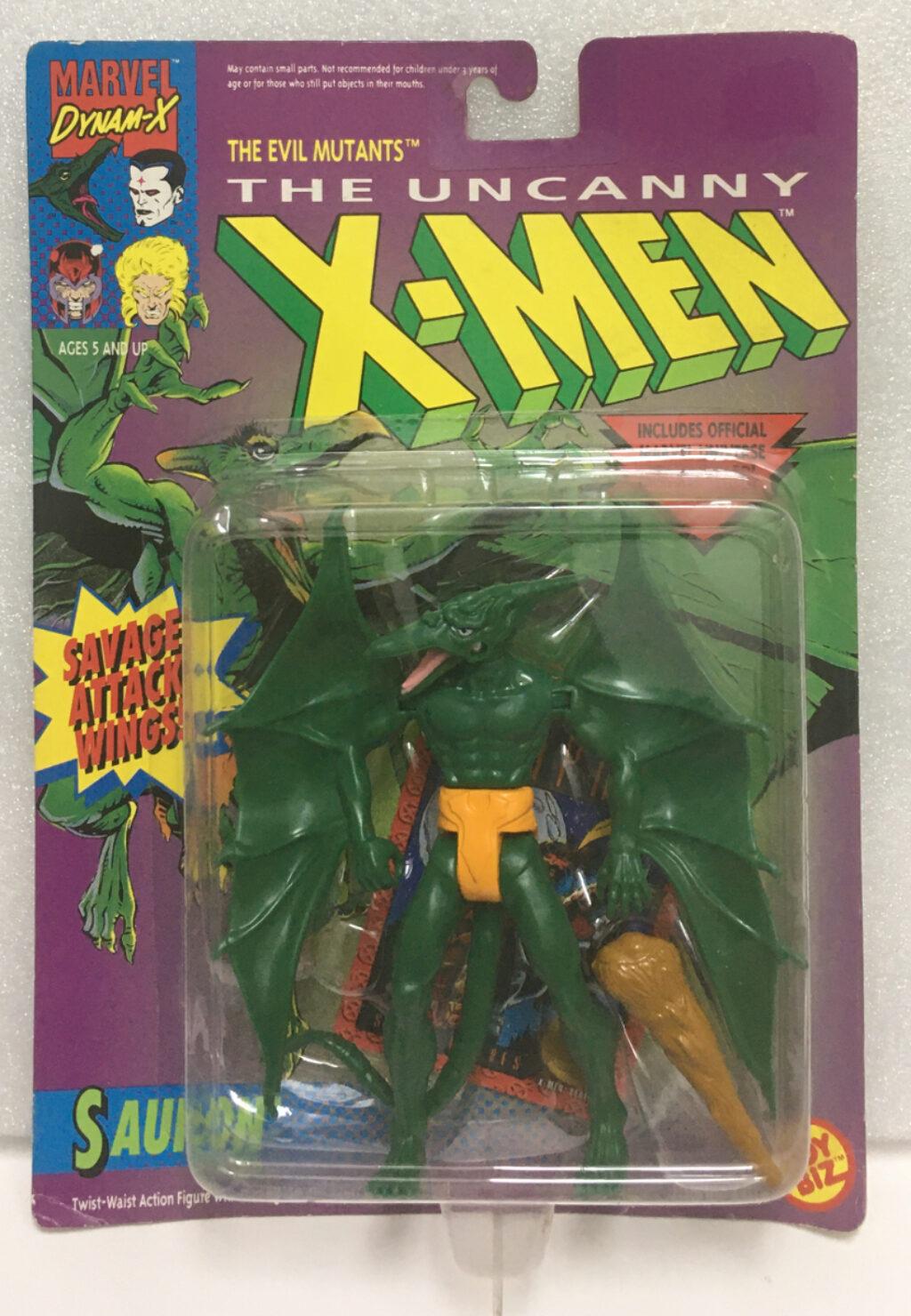 1992 toy biz x-men sauron action figure 1
