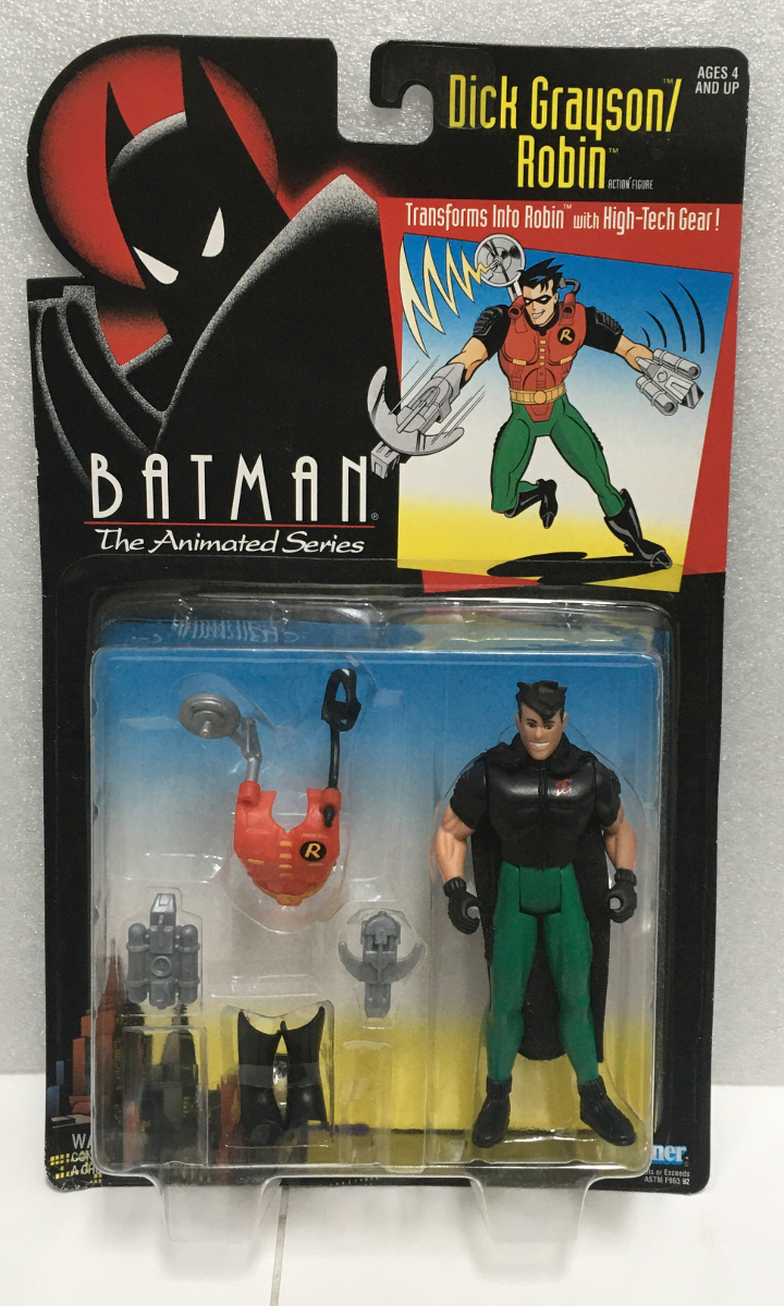 kenner batman the animated series dick grayson/robin action figure 1