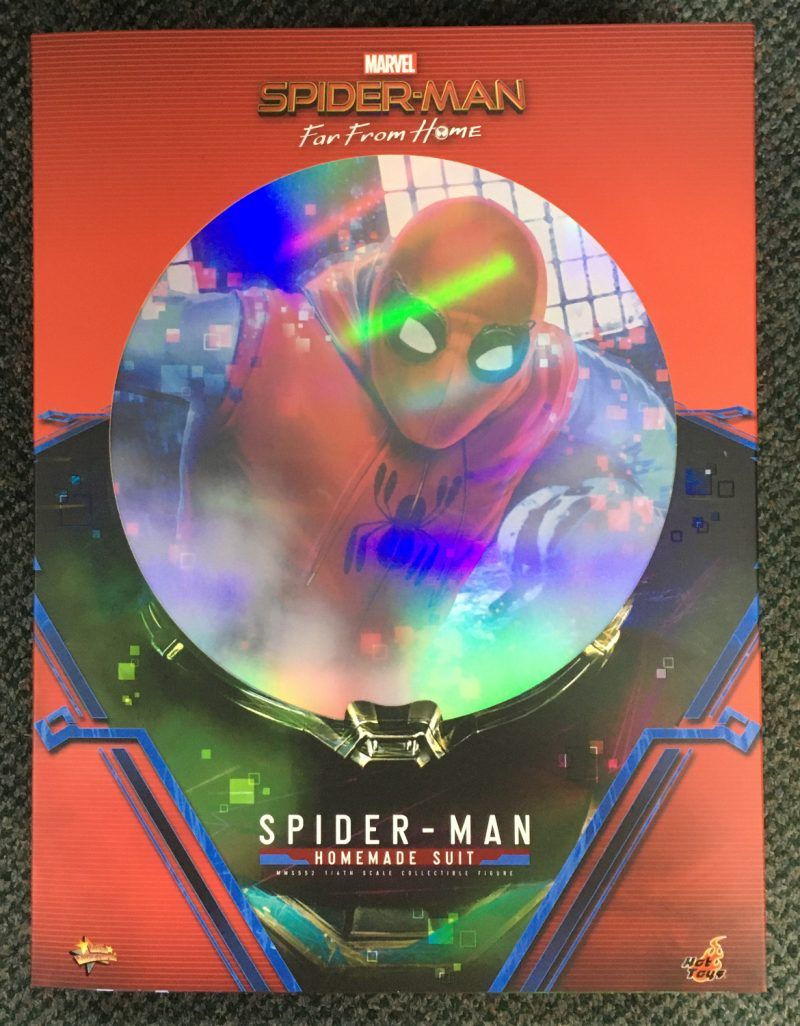 hot toys spider-man far from home homemade suit 1:6 scale figure 1