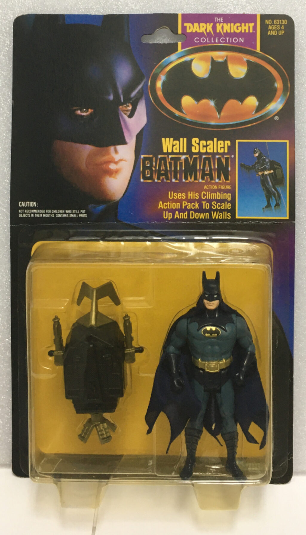 kenner dark knight collection wall scaler batman 1