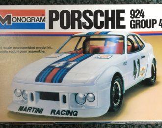 Vintage Monogram Porsche 924 Group 4 Model Kit Complete and Unbuilt
