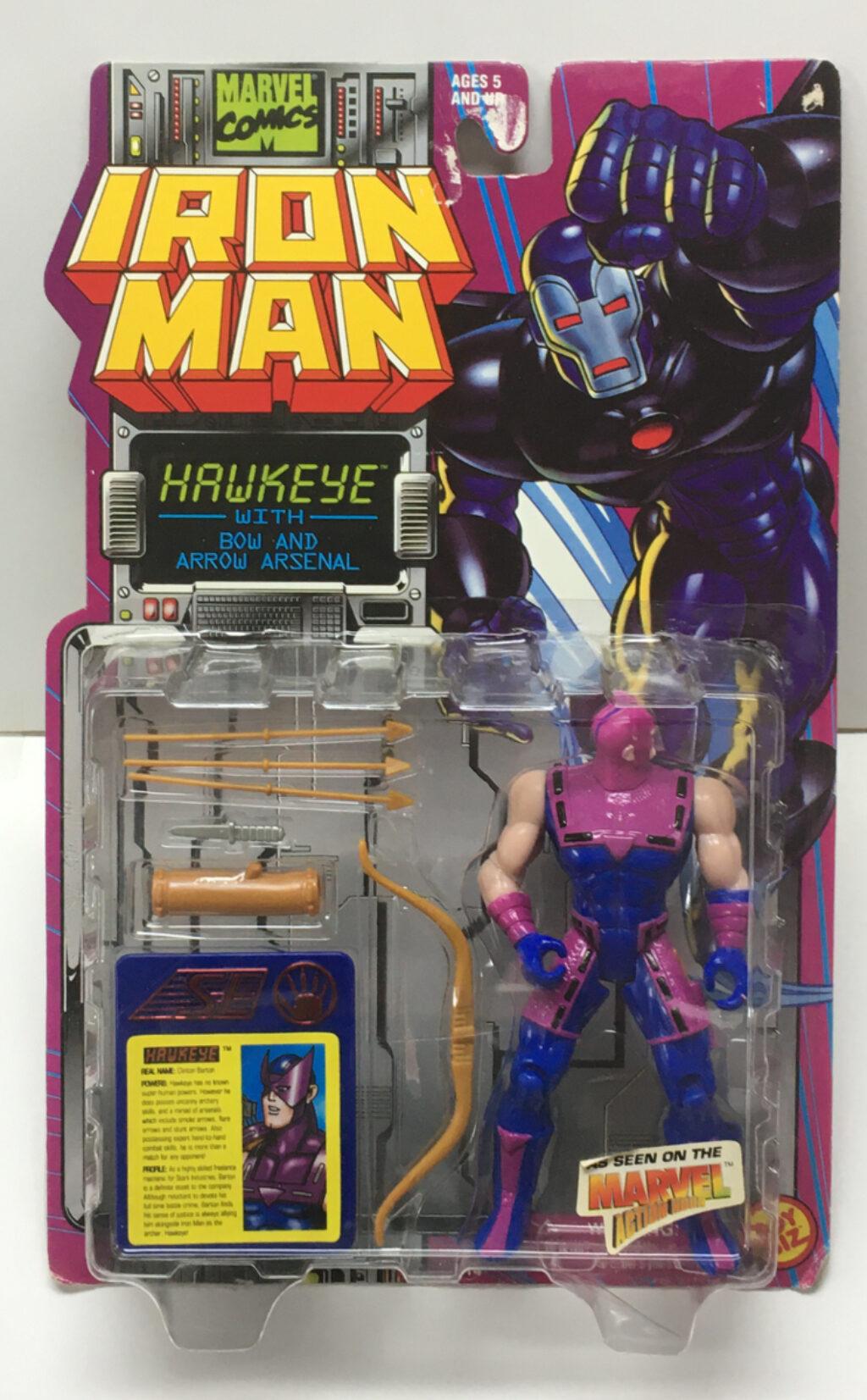 toy biz iron man hawkeye action figure 1
