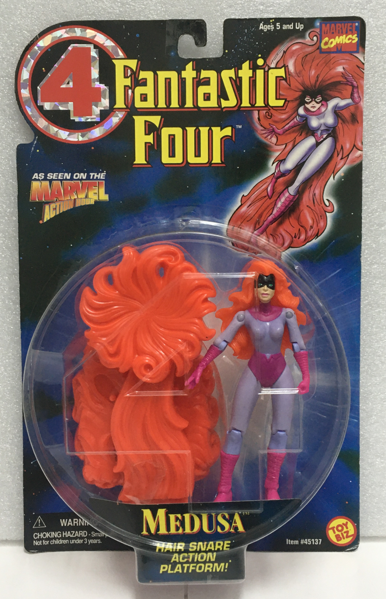 toy biz fantastic four medusa action figure 1