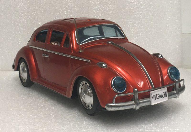 1960's bandai volkswagen beetle battery-op 1
