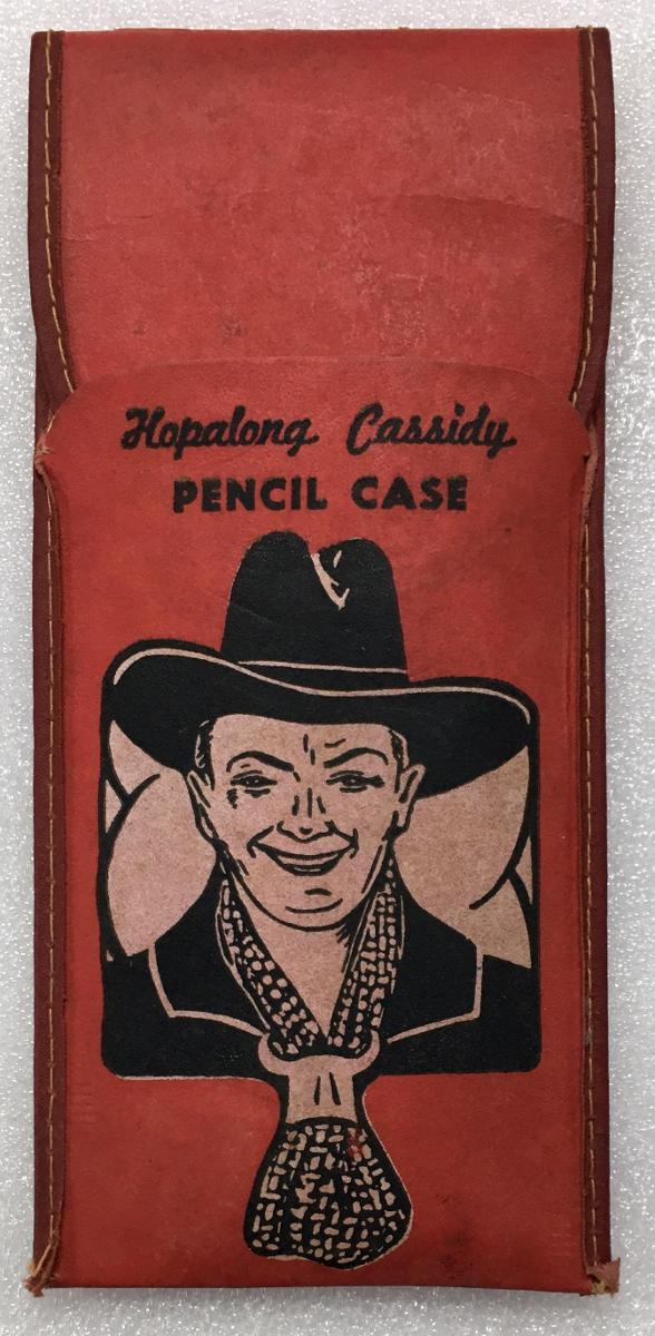 1940's hopalong cassidy pencil case 1