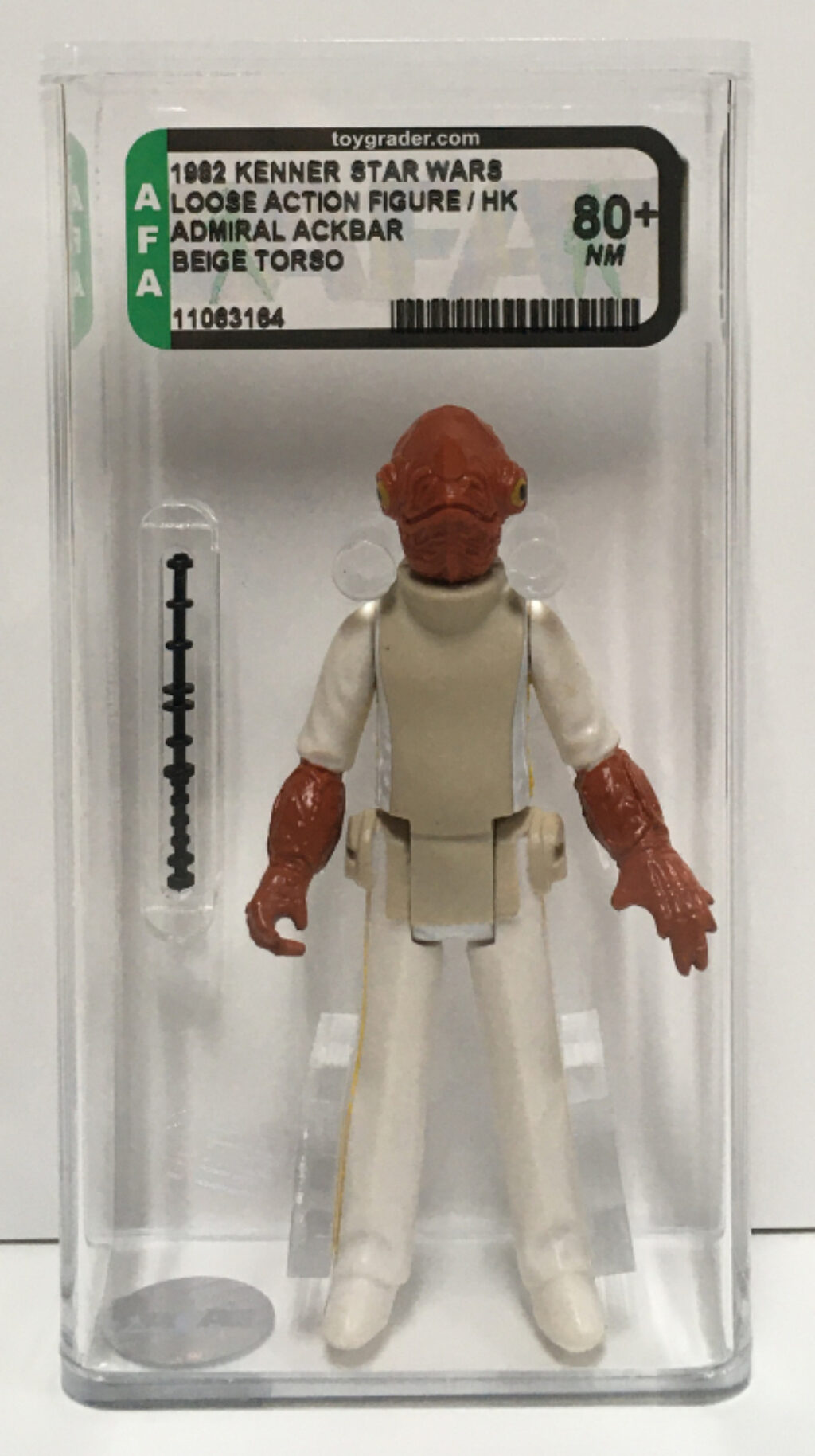 afa graded kenner star wars admiral ackbar 1