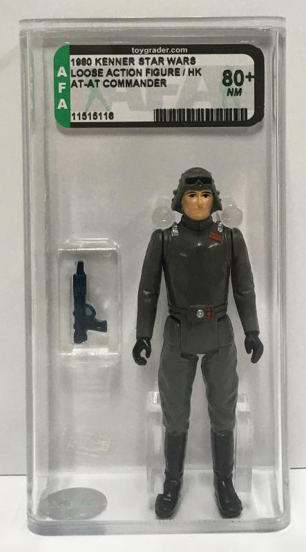 afa graded kenner star wars at-at commander 1