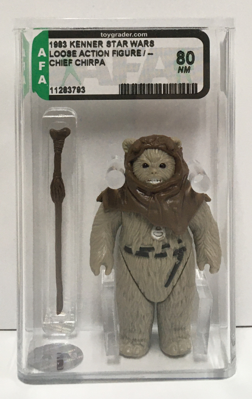 afa graded kenner star wars chief chirpa 1
