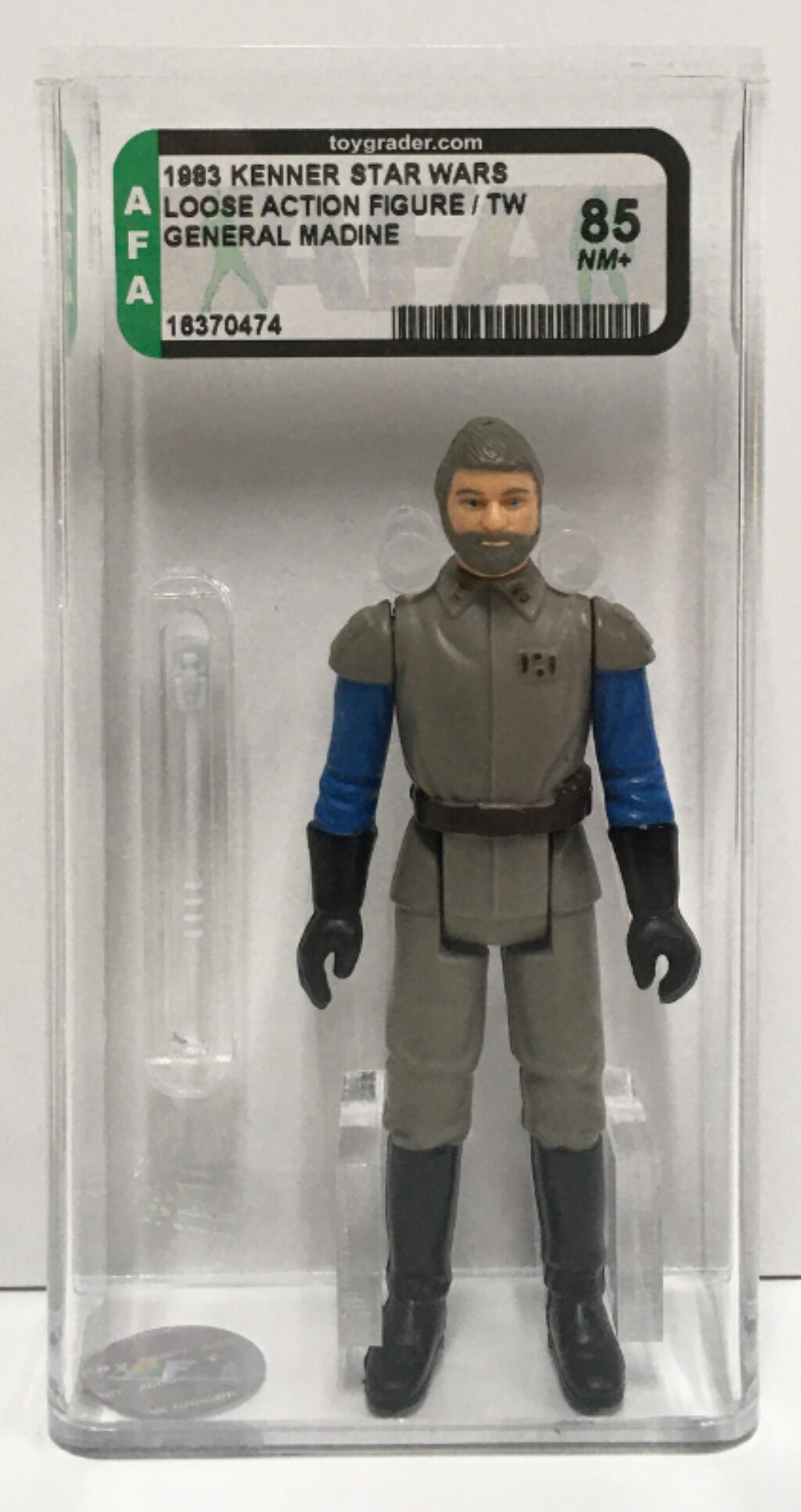 afa graded kenner star wars general madine 1
