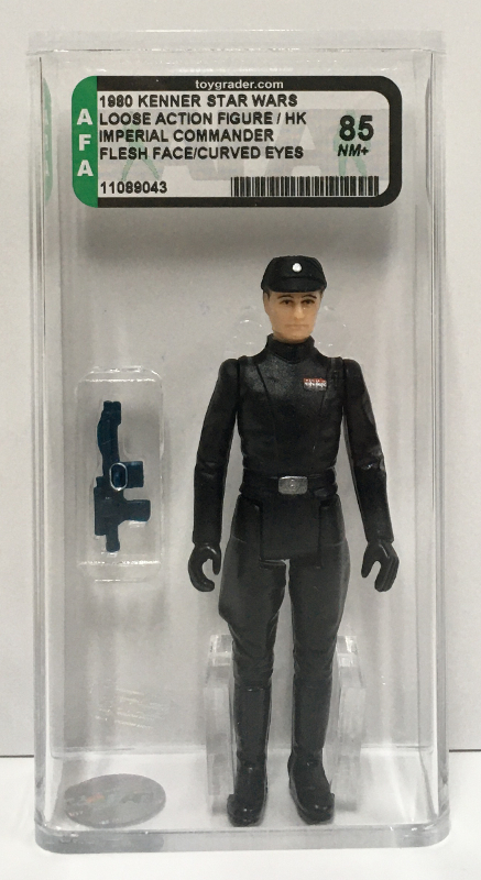 afa graded kenner star wars imperial commander 1