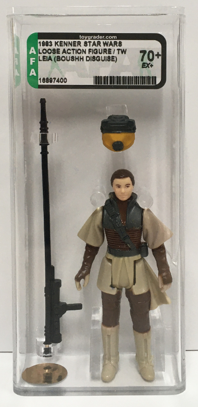 afa graded kenner star wars leia boushh disguise 1