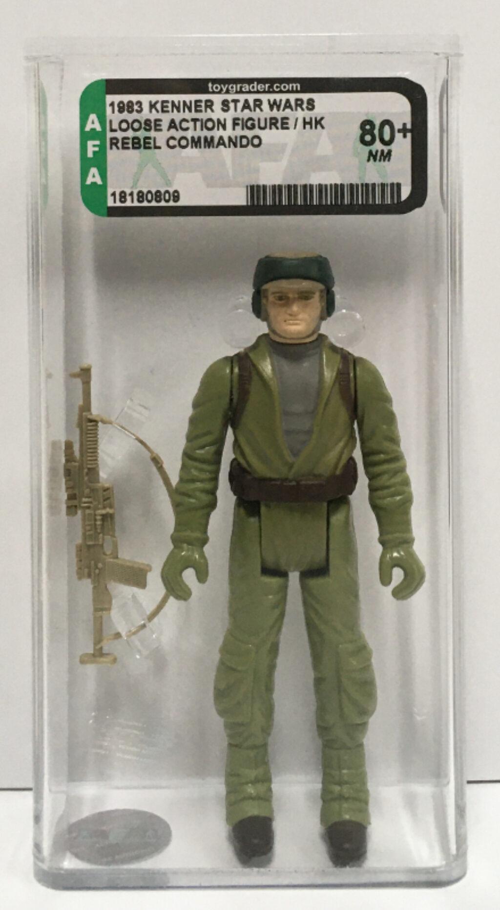 afa graded kenner star wars rebel commando 1