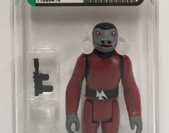 1978 AFA-Graded 80 NM Kenner Star Wars Snaggletooth