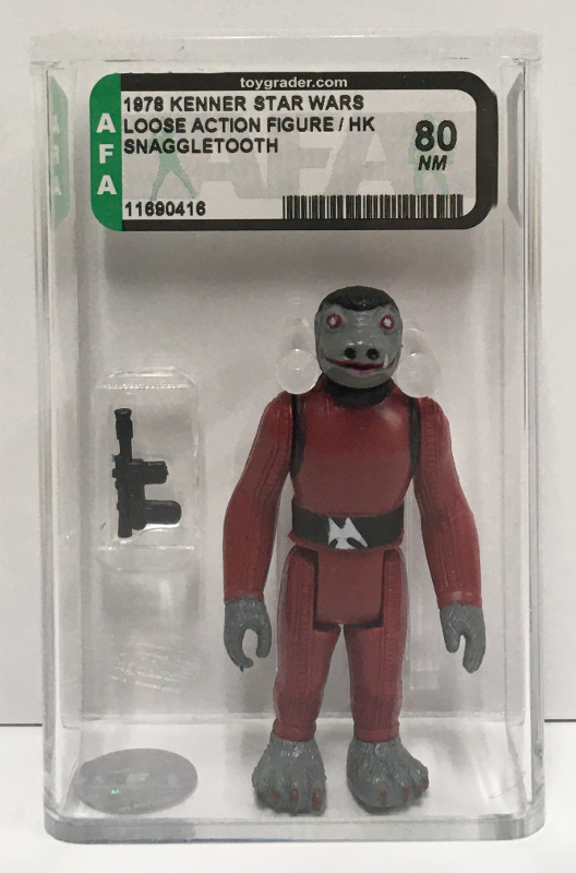 afa graded kenner star wars snaggletooth 1