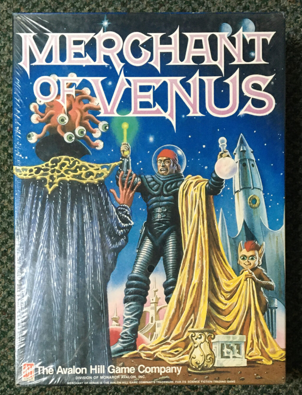 avalon hill merchant of venus game 1