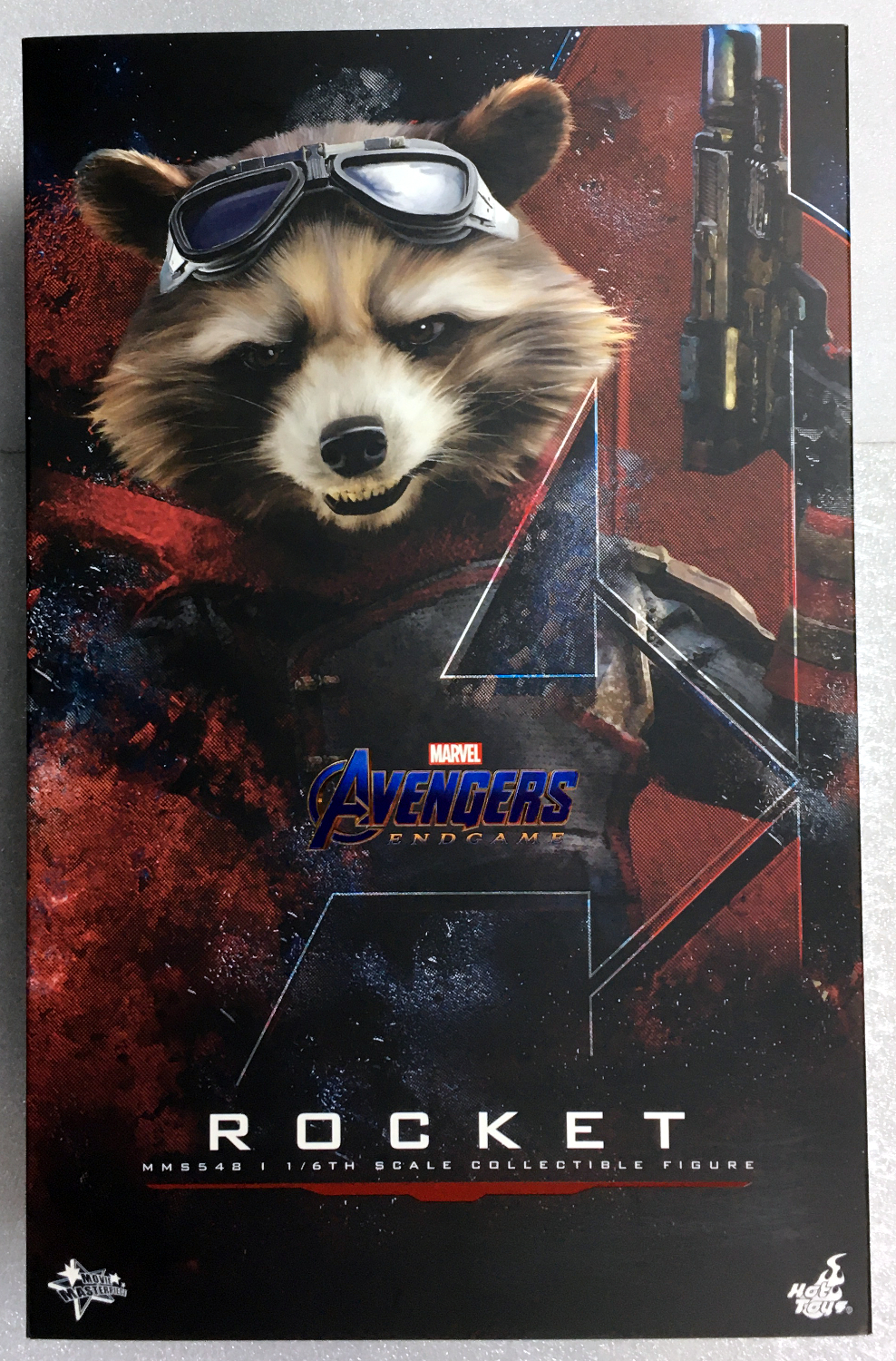 hot toys avengers endgame rocket raccoon 1:6 scale figure 1
