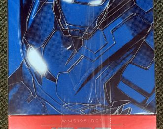 Hot Toys Diecast Iron Man 3 Iron Patriot 1:6 Scale Figure