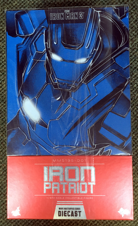 hot toys iron man 3 iron patriot 1:6 scale figure 1