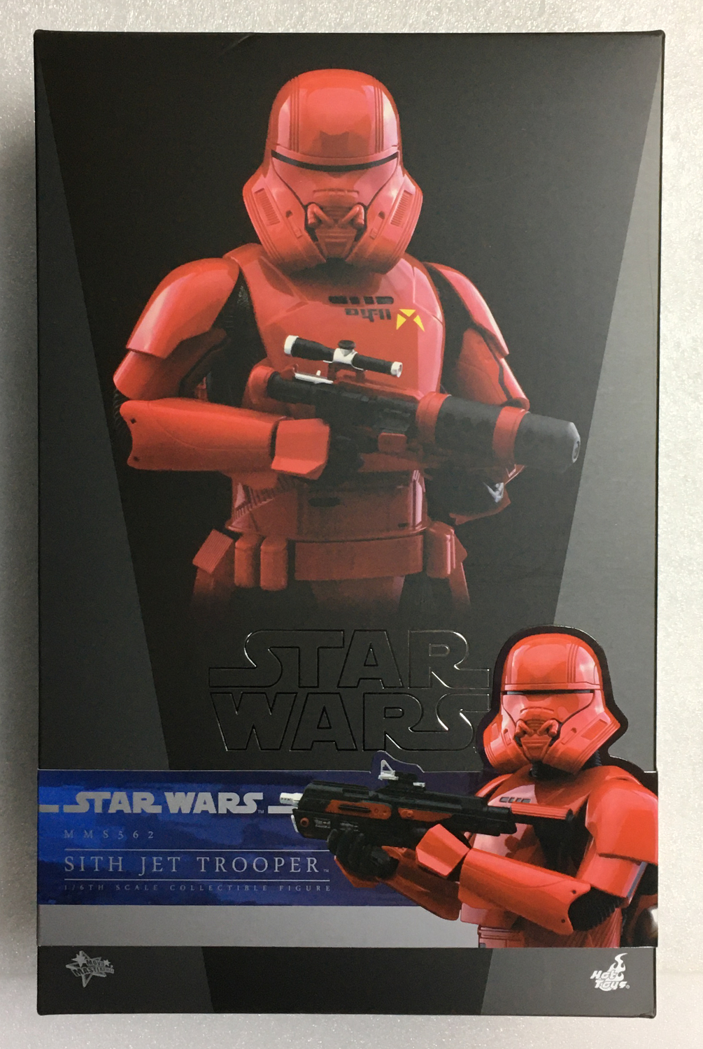 hot toys star wars sith jet trooper 1:6 scale figure 1