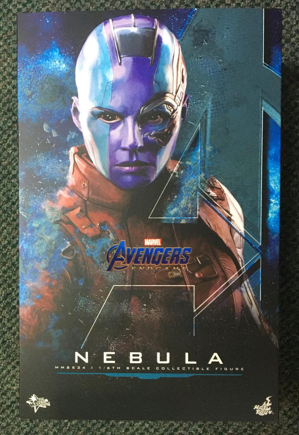 hot toys marvel avengers endgame nebula 1:6 scale figure 1