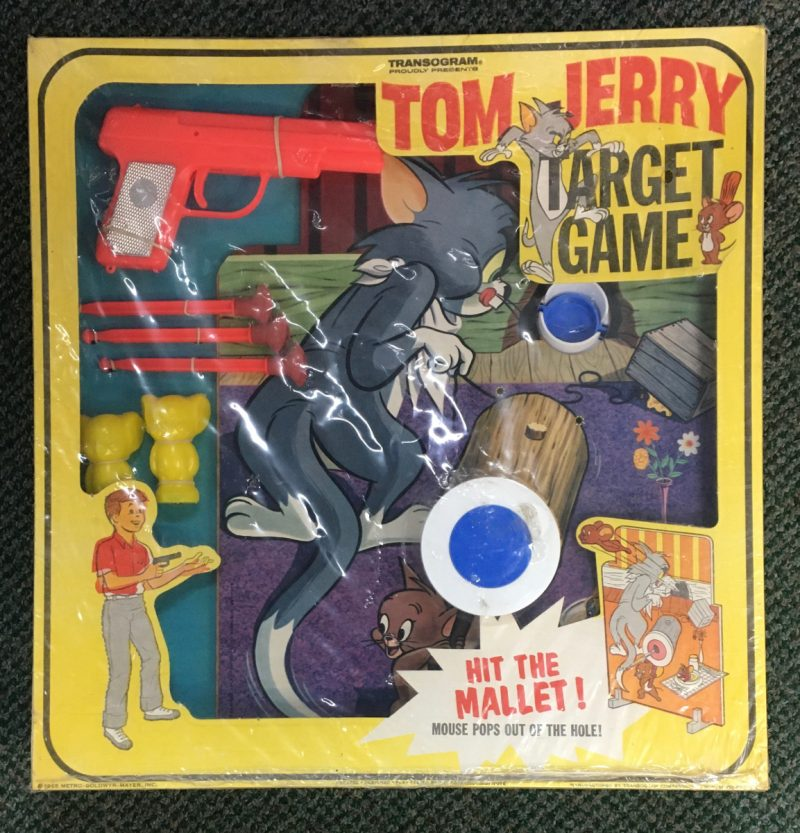 1965 transogram tom and jerry target game 1