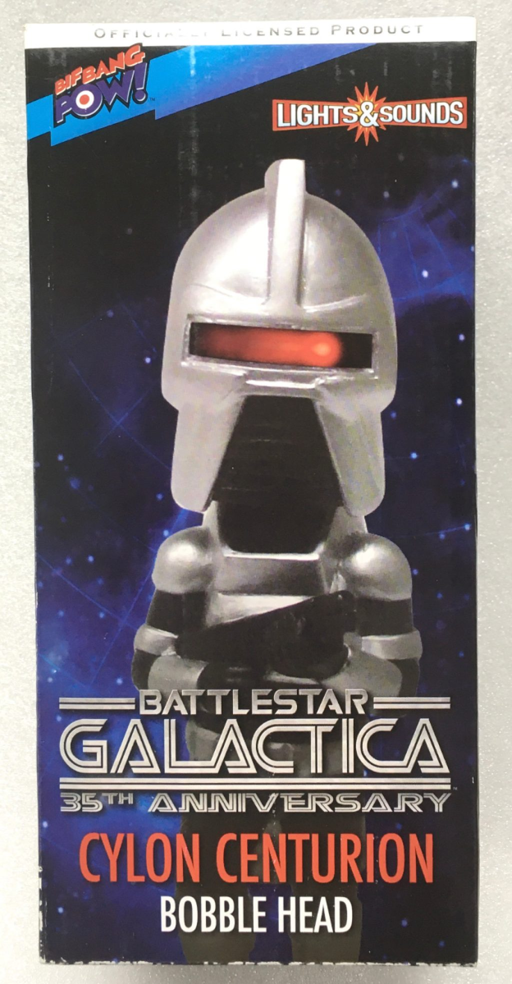 bif bang pow battlestar galactica cylon bobblehead