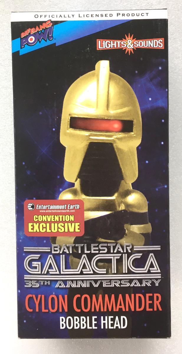 bif bang pow battlestar galactica cylon commander bobblehead