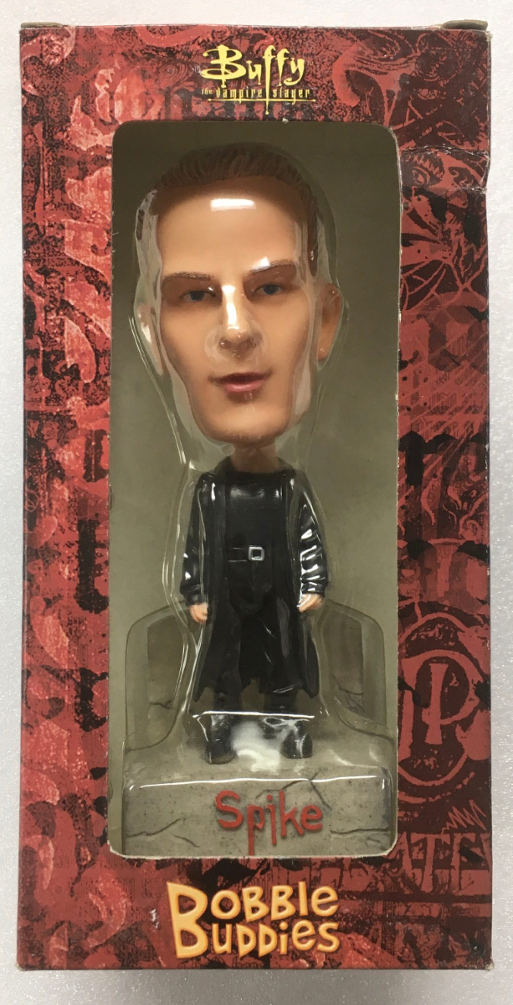 buffy the vampire slayer spike bobble buddies bobblehead