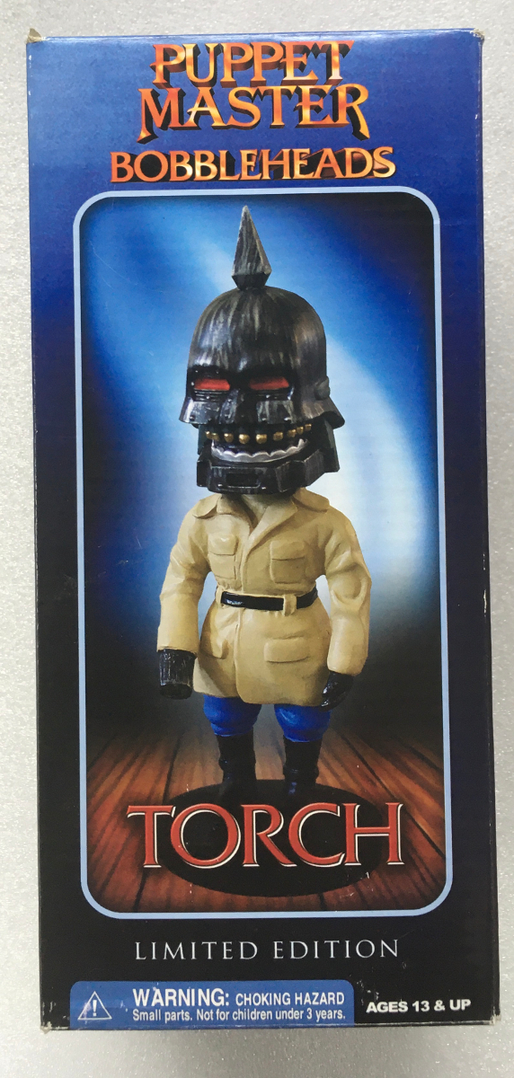 full moon features puppet master torch bobblehead