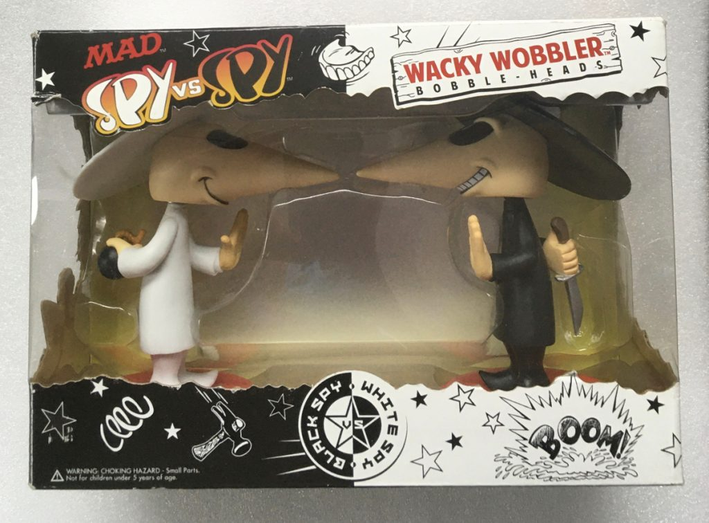 funko mad magazine spy vs spy wacky wobbler set