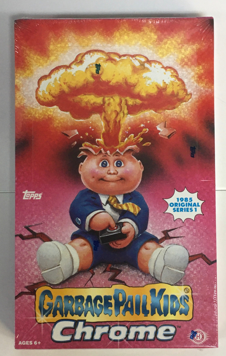 2013 gpk chrome 1985 original series box