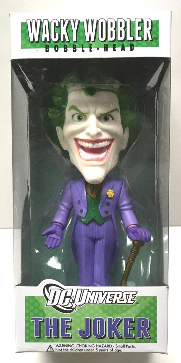funko dc universe the joker wacky wobbler