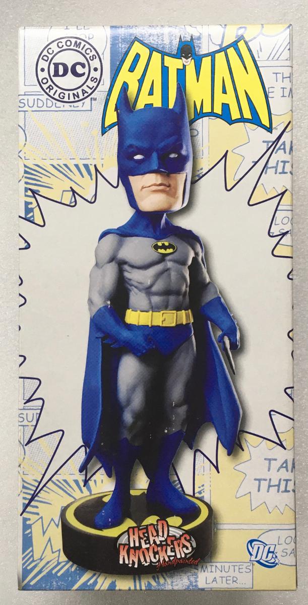neca head knockers batman resin bobblehead