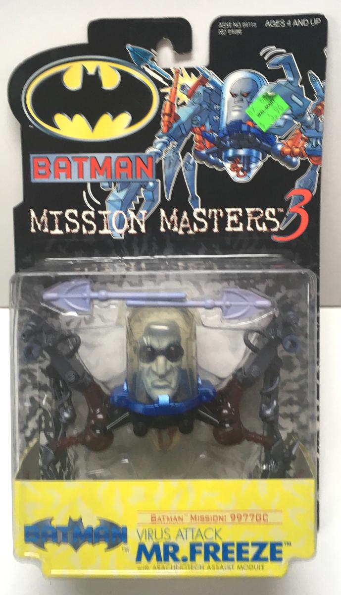 batman mission masters 3 virus attack mr freeze 1