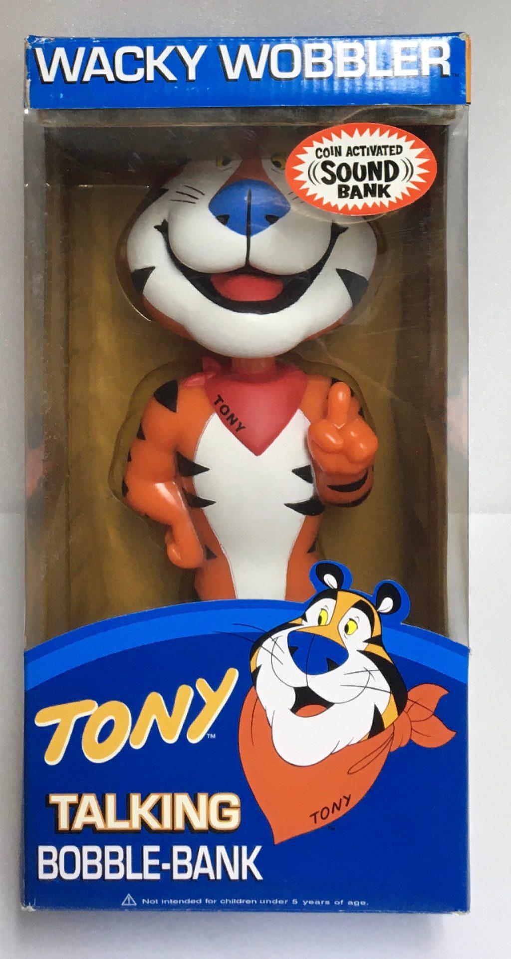 funko tony the tiger talking bobblehead bank 1
