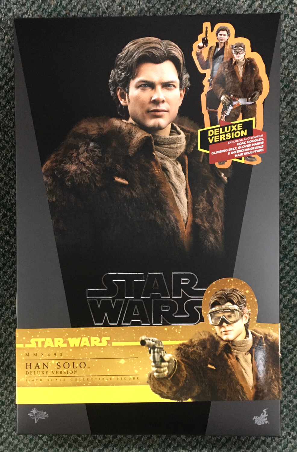 hot toys solo a star wars story han solo deluxe 1:6 scale figure 1
