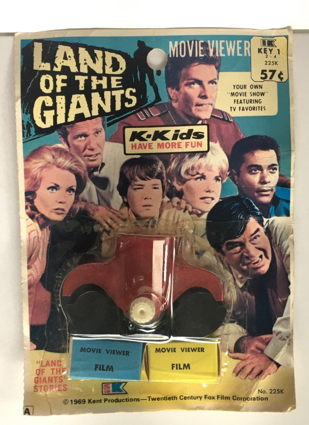 1969 k-kids land of the giants movie viewer 1