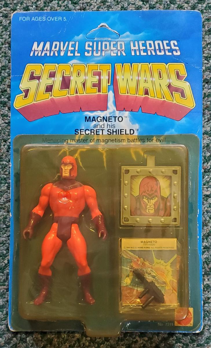 mattel marvel super-heroes secret wars magneto action figure 1
