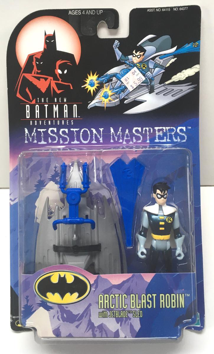 new batman adventures mission masters arctic blast robin action figure 1