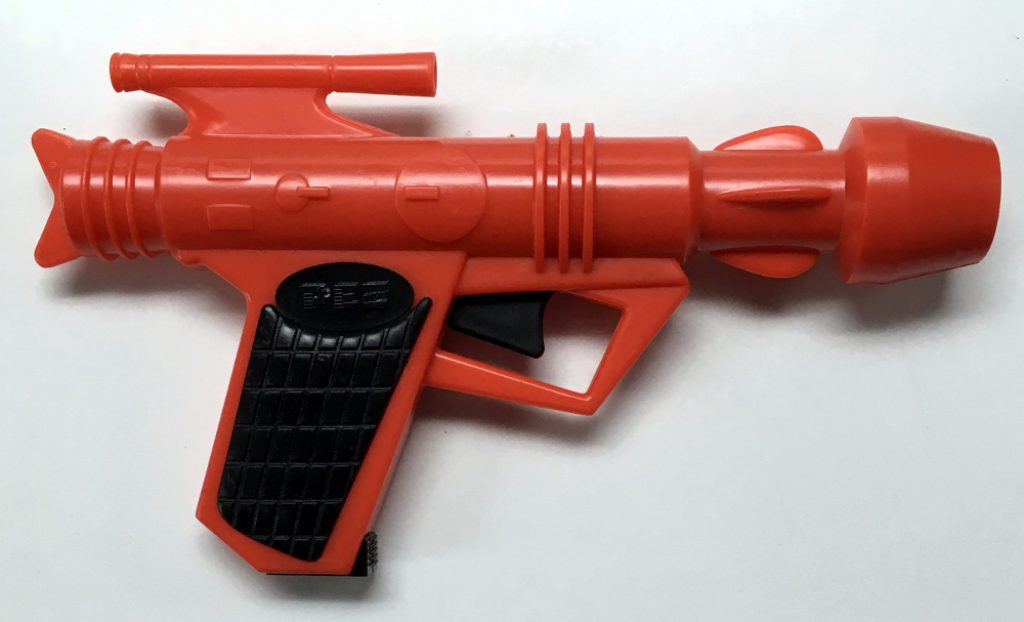 1980 space gun pez dispenser 1