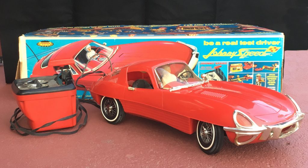 1966 topper toys johnny speed battery-operated car 1