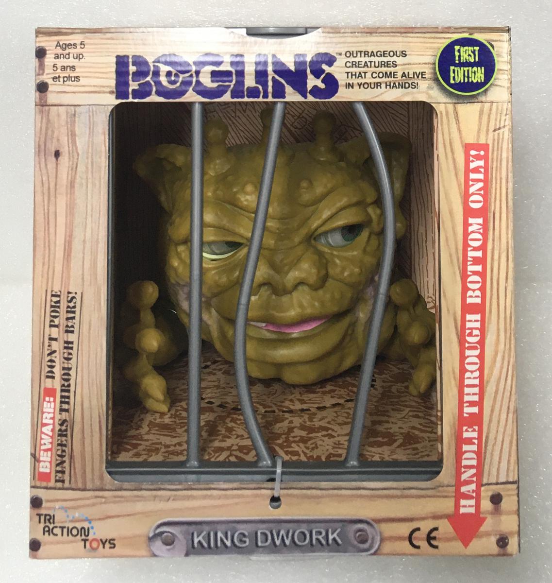 Tri Action Toys Boglins King Dwork 1