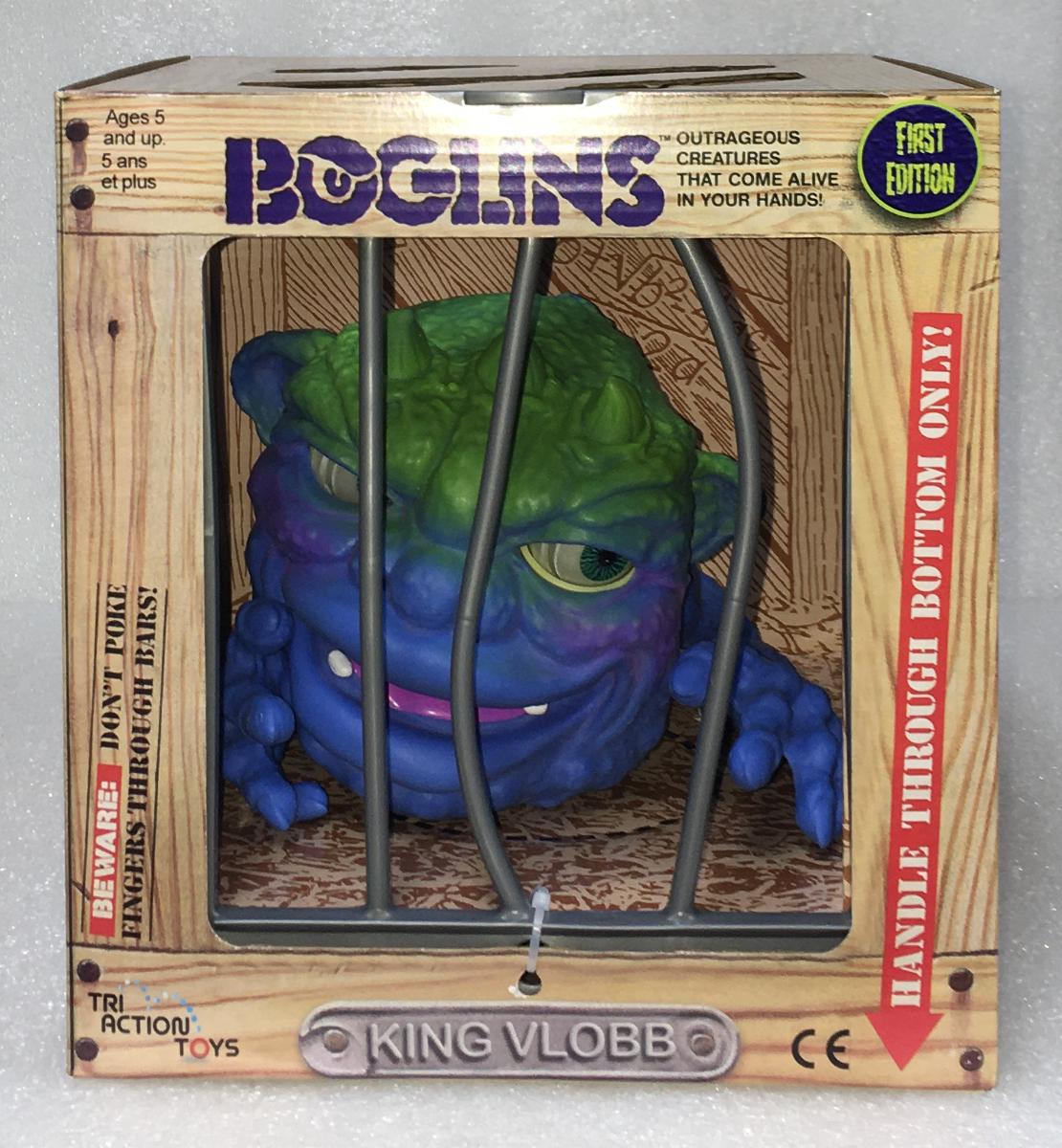 Tri Action Toys Boglins King Vlobb 1