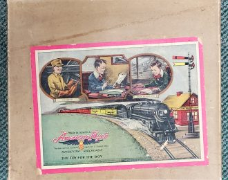 1921 American Flyer Miniature Railroads Tin Litho Wind-Up Train in Box – MUST SEE!