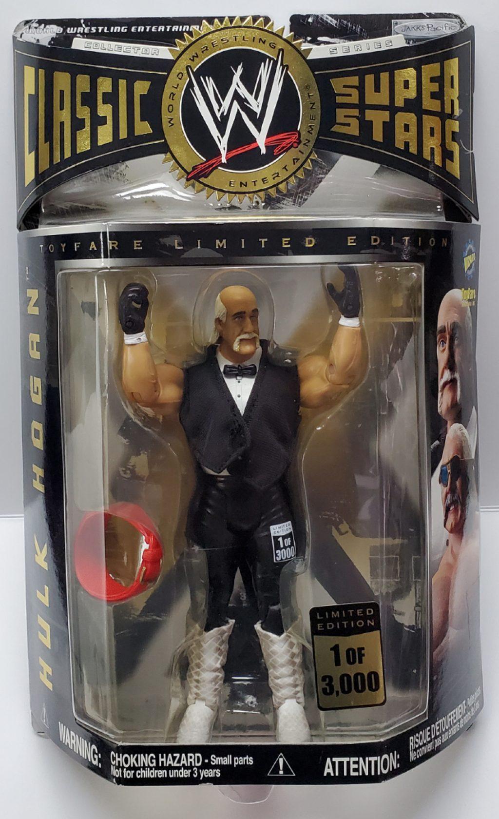 WWE Classic Super Stars Toyfare Limited Edition Hulk Hogan Action Figure 1