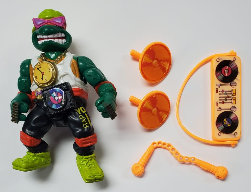 TMNT Rappin' Mike Action Figure 1