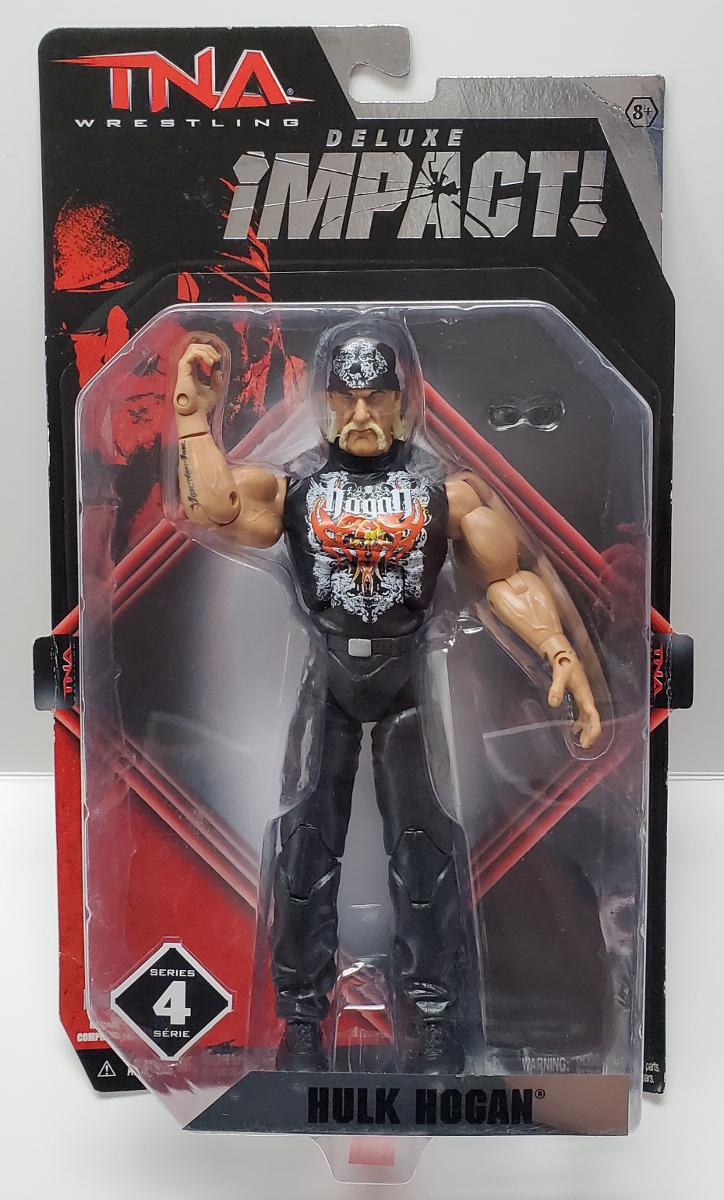 TNA Wrestling Deluxe Impact Hulk Hogan Action Figure 1