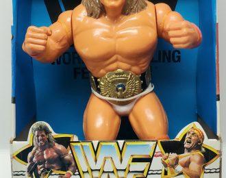 WWF Superstar Ultimate Warrior Water Pumper in the Box